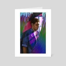 Dean Winchester is Bi (a fanart) - Art Card by Xanthe P Russell