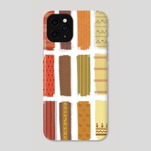 Textiles - Phone Case by Jessica Lucas