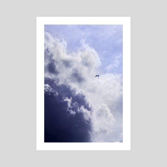Fly into the storm by Hampus Carlson