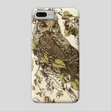 Great Horned Owl - Phone Case by Teagan White