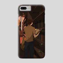 Library - Phone Case by Emmanuell Costa