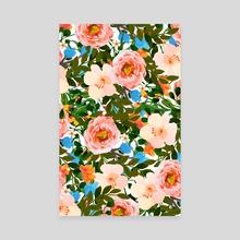 Rose Garden - Canvas by 83 Oranges