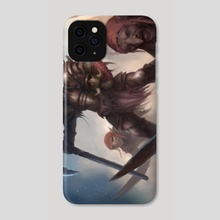 The Red Caps - Phone Case by Christopher West