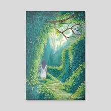 Secret Garden - Acrylic by Tara Aka Balefyren pokora