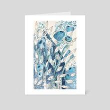 Oceanica #1 - Art Card by Pini & Joaco  Ponce Echevarria