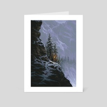 The Cold Ascent - Art Card by Adam Ferguson