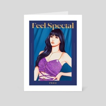 Feel Special - Art Card by lovelymoondays