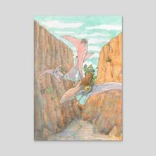 Rough Riders - Acrylic by Alain Gruetter