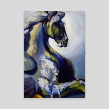 Pegasus - Canvas by Martha Wirkijowski