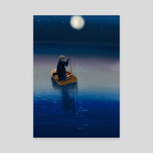 night - Canvas by ameera
