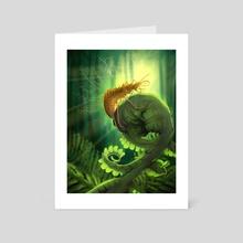 Hallucinochrysa - Art Card by Aldermoth