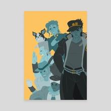 Jojo part 3 - Canvas by HY Leng