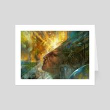 El despertar de la Conciencia - Art Card by Gonzalo Kenny