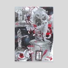 dream - Canvas by Daniel Grzeszkiewicz