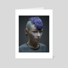 Elise - Art Card by Fran Saa