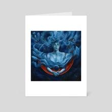 Neptune - Art Card by Francesca Baerald