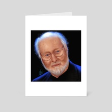 John Williams - Portrait - Art Card by Juan Carlos Guzmán