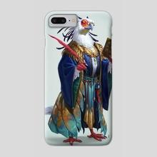 Scholar Bird - Phone Case by Christina Kraus
