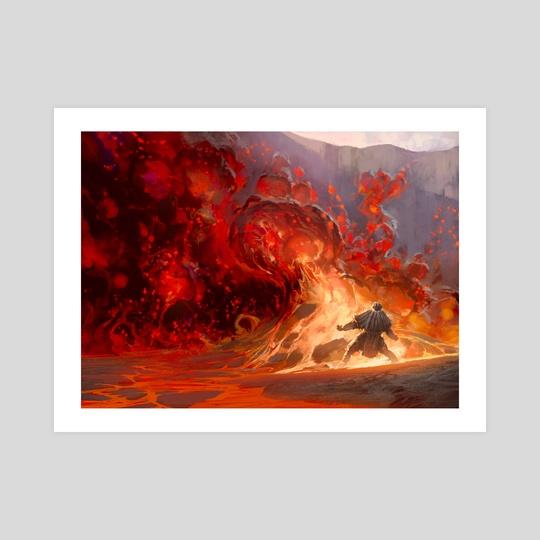 Volcanic Vision by Noah Bradley