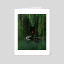 red hat - Art Card by Sergey Fett