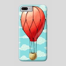 Hot Air Balloon - Phone Case by Indré Bankauskaité