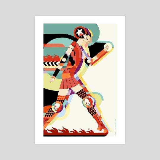 Roller Deco by Kali Ciesemier