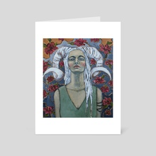 Warrior - Art Card by Jane Spakowsky