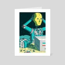 Reboot - Art Card by Laurent Hrybyk