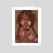 Calico - Art Card by miriam