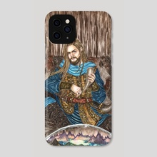 The watchman of the Gods - Phone Case by Milbeth Morillo