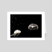 Underwater Spaceship - Art Card by :)