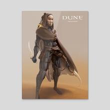 Dune_Fremen - Acrylic by Bruno Gauthier Leblanc