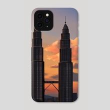 Kuala Lumpur - Phone Case by Sam Lee