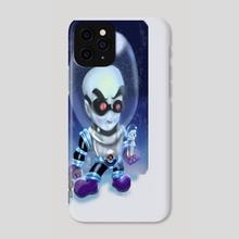 mini mr freeze - Phone Case by dylan delgado