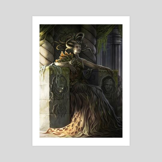 Vraska Golgari Queen by Magali Villeneuve