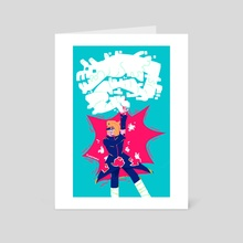art is explosive - Art Card by Ell Raivo
