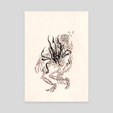 Release - Canvas by Diego Hernandez-Black