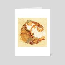 Create: Noodles - Art Card by Sarah Gonzales