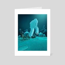 Stolen presents - Art Card by Peter Nagy