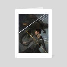 Zoochosis - Art Card by Scott Altmann