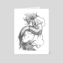 mermaid - Art Card by Anastasia Tupikova