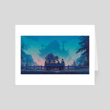 Kingdom in Blue - Art Card by Matt Rockefeller