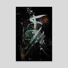 STP Screen Transfer Process - 0152 - Tenebrium 3 - Canvas by Wetdryvac WDV