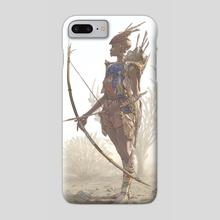 Female Masai Warrior - Phone Case by Hendrik Visser