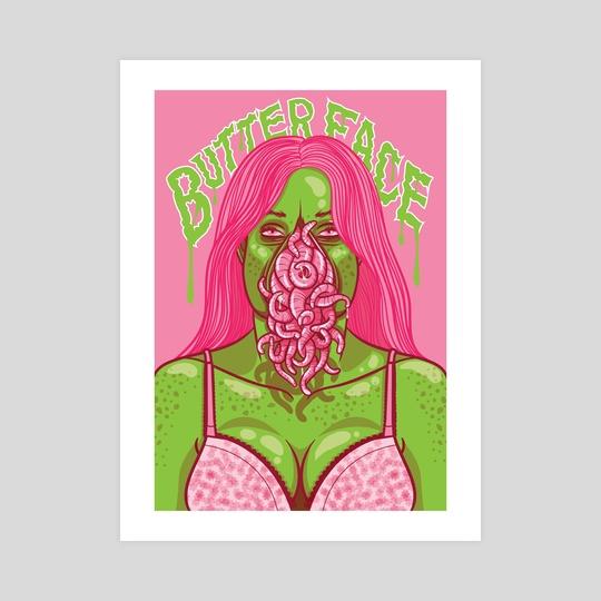 Butterface by Jennifer Smith