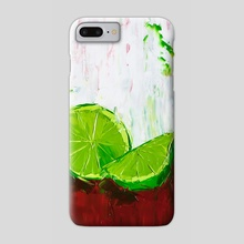 Zesting a Lime - Phone Case by Eric Buchmann