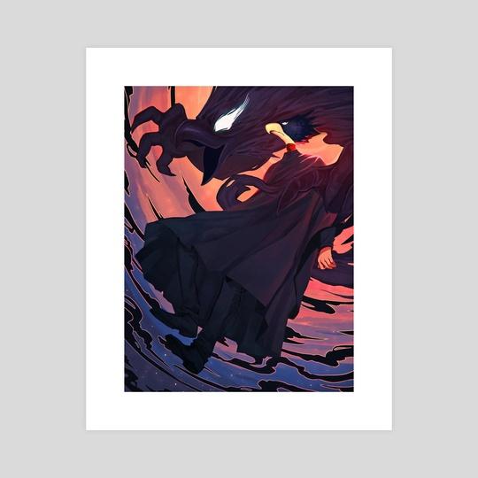 Tokoyami  by Emily Blundell