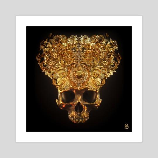 Skeletal Crown I by Billelis