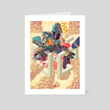 Last Stand - Art Card by Jordan Lewerissa