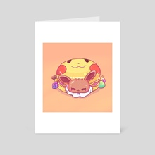 Let's Go! Macaron - Art Card by Ashley Brielle